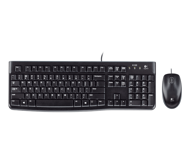 Logitech MK120 Keyboard and Mouse Combo