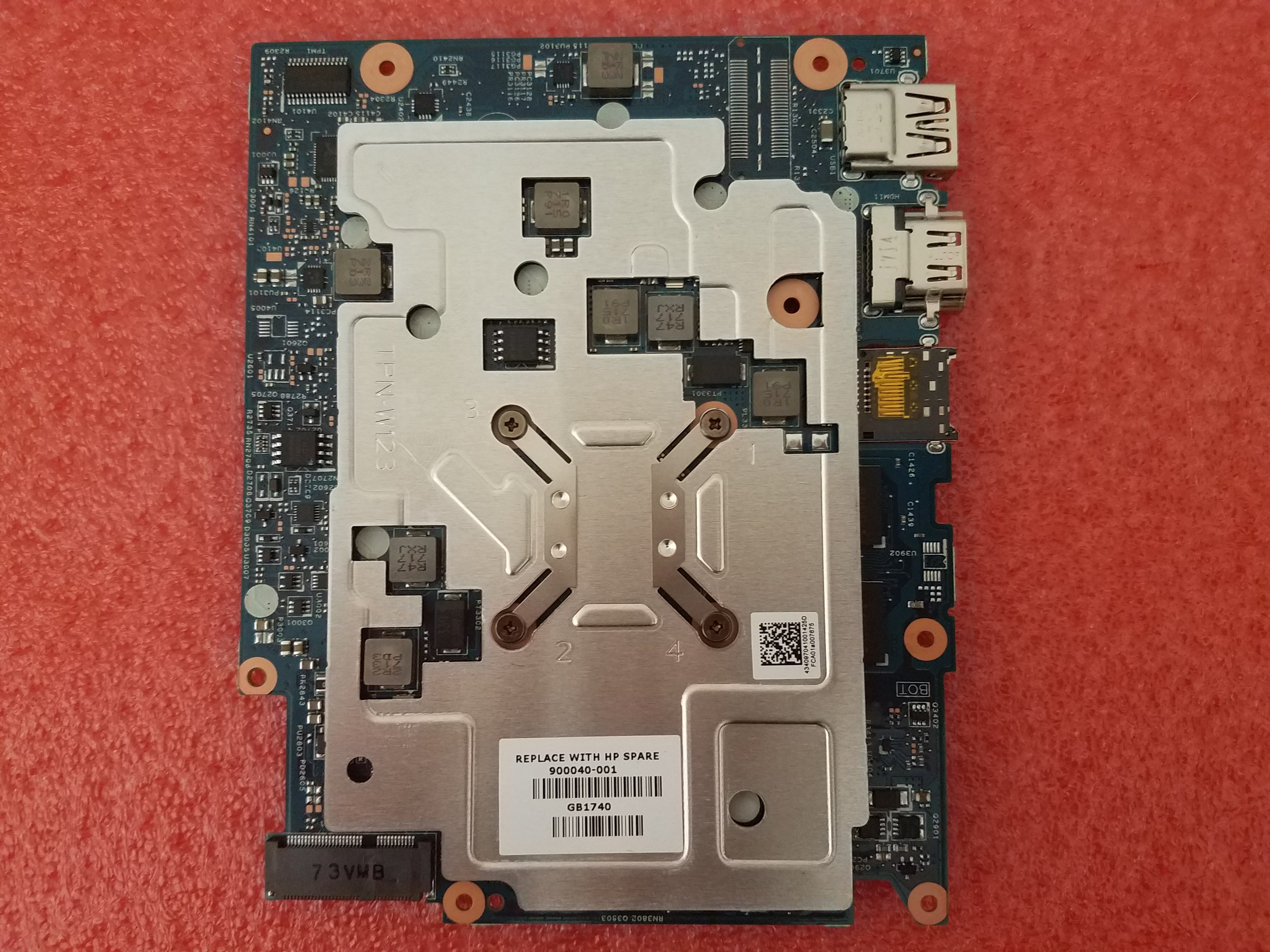HP Chromebook 11 G5 Motherboard, 4GB