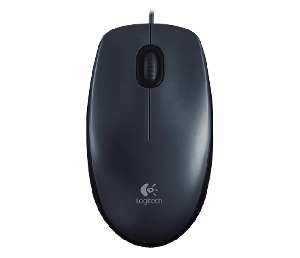Logitech M100 Optical USB Mouse
