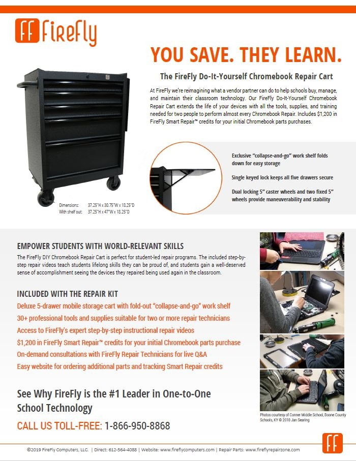 FireFly DIY Repair Kit Datasheet