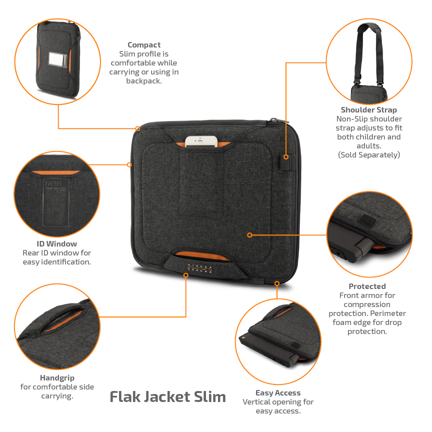 Flak Jacket Slim Call-outs