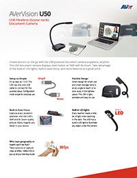 AVerVision U50 Datasheet